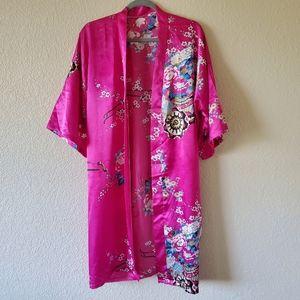 Asian Print Inspired Robe